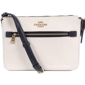 COACH Colorblock File Crossbody Handbag